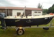 Łódka do dyspozycji na Warmii i na Bałtyku