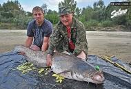 Fishing trips for catfish - www.guidedfishing.eu - Fishing trips with guide
