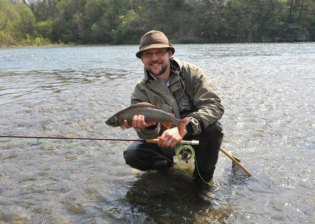 Fishing with guide - Grayling - www.guidedfishing.eu - Fishing trips