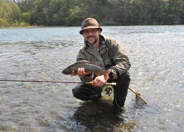 Fishing with guide - Grayling - www.guidedfishing.eu - Fishing trips