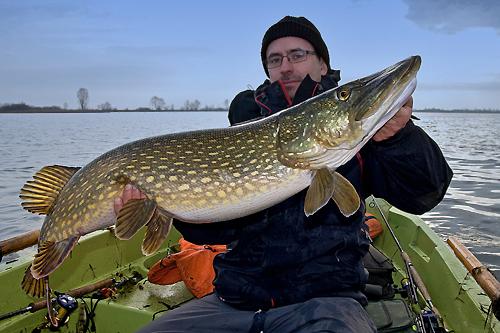 Fishing with guide - Big Pike - www.guidedfishing.eu - Fishing trips
